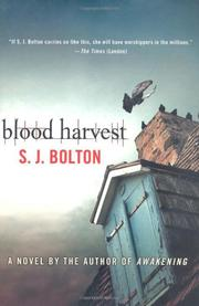 BLOOD HARVEST by S.J. Bolton