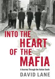 INTO THE HEART OF THE MAFIA by David Lane