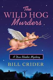 THE WILD HOG MURDERS by Bill Crider