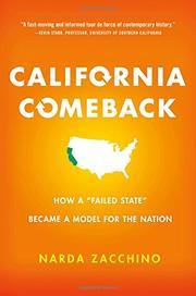 CALIFORNIA COMEBACK by Narda Zacchino