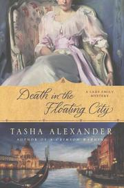 Cover art for DEATH IN THE FLOATING CITY