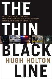 THE THIN BLACK LINE by Hugh Holton