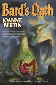BARD'S OATH by Joanne Bertin