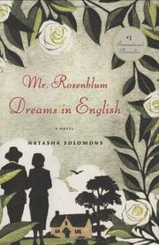 MR. ROSENBLUM DREAMS IN ENGLISH by Natasha Solomons