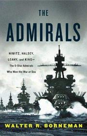 Cover art for THE ADMIRALS