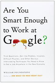 Book Cover for ARE YOU SMART ENOUGH TO WORK AT GOOGLE?