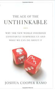Book Cover for THE AGE OF THE UNTHINKABLE