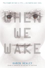 Cover art for WHEN WE WAKE