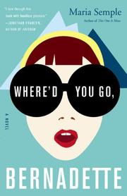 Cover art for WHERE'D YOU GO, BERNADETTE