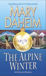THE ALPINE WINTER by Mary Daheim