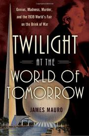 Book Cover for TWILIGHT AT THE WORLD OF TOMORROW