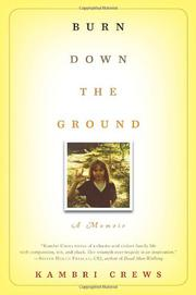 Cover art for BURN DOWN THE GROUND