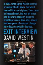 EXIT INTERVIEW by David Westin