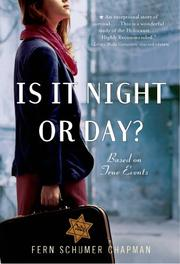 IS IT NIGHT OR DAY? by Fern Schumer Chapman
