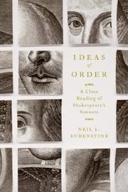 IDEAS OF ORDER by Neil L. Rudenstine