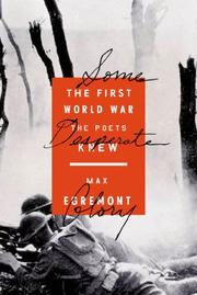 SOME DESPERATE GLORY by Max Egremont