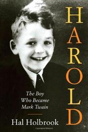 HAROLD by Hal Holbrook