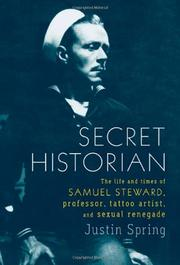 Book Cover for SECRET HISTORIAN