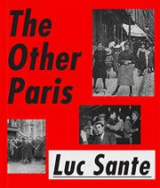 THE OTHER PARIS by Luc Sante