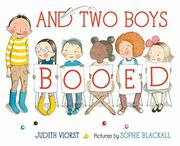AND TWO BOYS BOOED by Judith Viorst