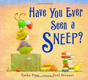 Cover art for HAVE YOU EVER SEEN A SNEEP?
