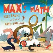 MAX'S MATH by Kate Banks