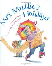 Cover art for MRS. MUDDLE'S HOLIDAYS