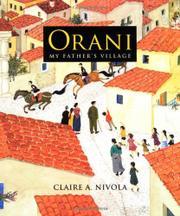 ORANI by Claire A. Nivola