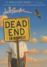 DEAD END IN NORVELT by Jack Gantos