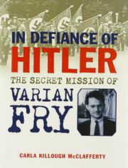 Cover art for IN DEFIANCE OF HITLER