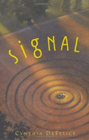 SIGNAL by Cynthia DeFelice