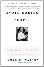 Cover art for AVOID BORING PEOPLE