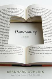 HOMECOMING by Bernhard Schlink