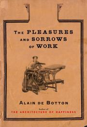 Cover art for THE PLEASURES AND SORROWS OF WORK