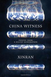 CHINA WITNESS by Xinran