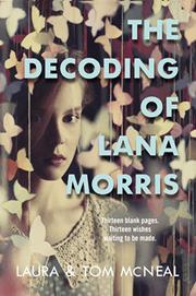Book Cover for THE DECODING OF LANA MORRIS