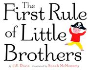 THE FIRST RULE OF LITTLE BROTHERS by Jill Davis