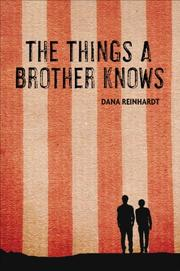 Book Cover for THE THINGS A BROTHER KNOWS