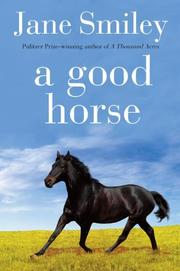 Cover art for A GOOD HORSE