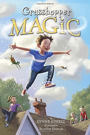 GRASSHOPPER MAGIC by Lynne Jonell