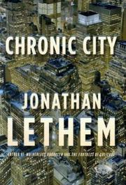 Book Cover for CHRONIC CITY