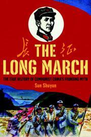 THE LONG MARCH by Sun Shuyun
