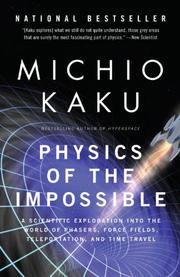 Cover art for PHYSICS OF THE IMPOSSIBLE