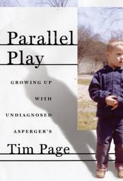 Book Cover for PARALLEL PLAY