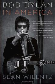 Book Cover for BOB DYLAN IN AMERICA