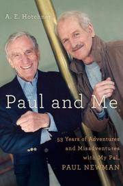 PAUL AND ME by A.E. Hotchner