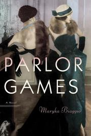 Book Cover for PARLOR GAMES