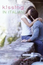 KISSING IN ITALIAN by Lauren Henderson