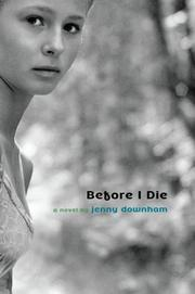 Cover art for BEFORE I DIE
