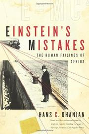 EINSTEIN'S MISTAKES by Hans C. Ohanian